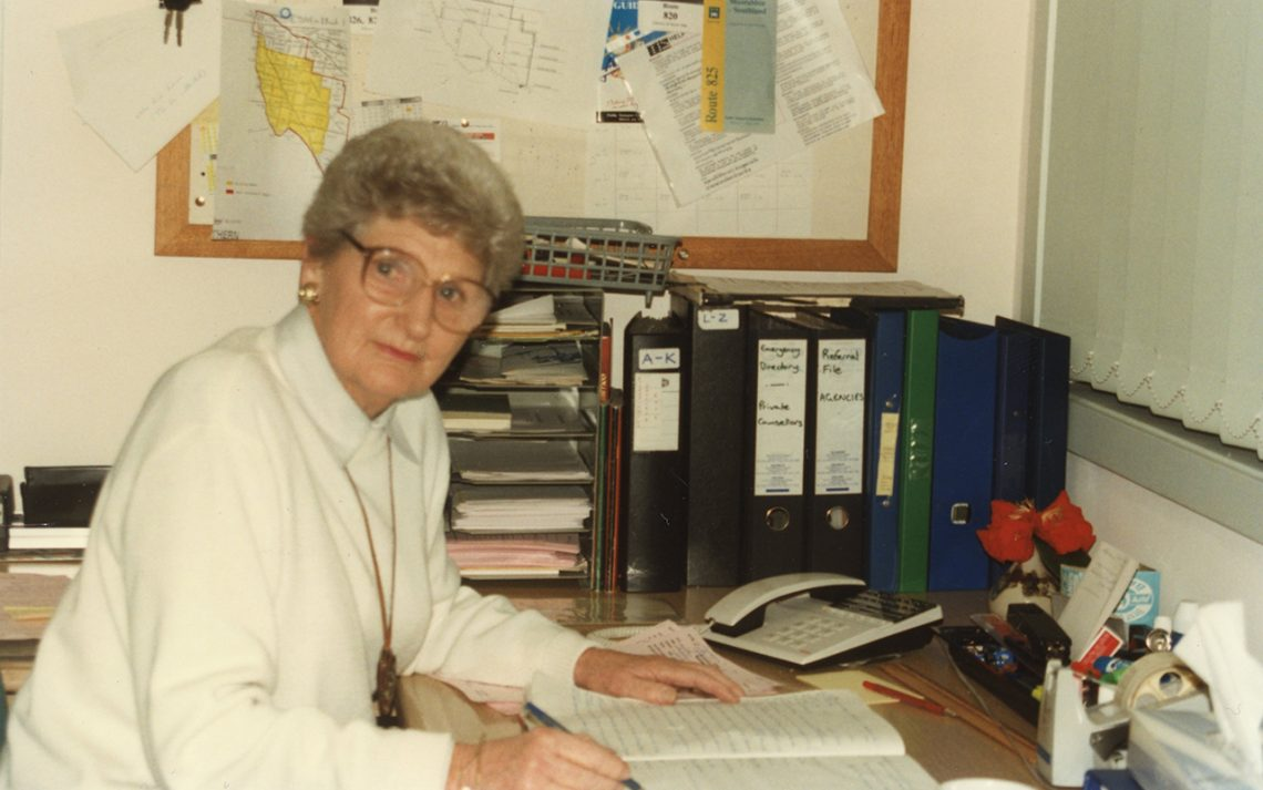 Marjorie Griffiths, Officer 1987, Volunteer, Committee of Management, 1995-2000.